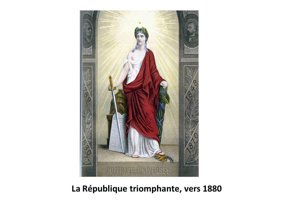 La République triomphante, vers 1880