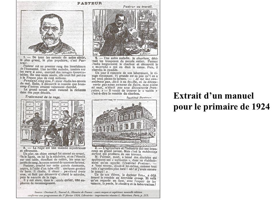 Extrait dun manuel pour le primaire de 1924
