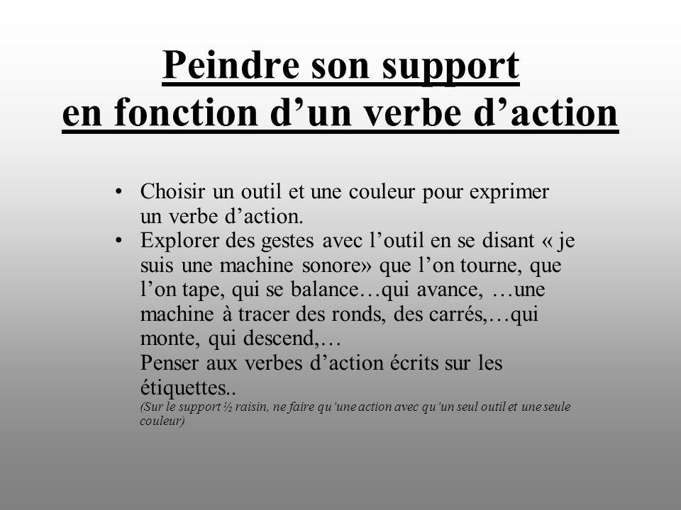 3 : Choisir un objet et trouver une phrase sonore et gestuelle: début, trouver 3 actions différentes et une fin ( à répéter à apprendre aux autres etc....