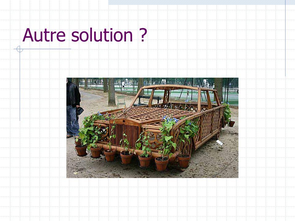 Autre solution ?