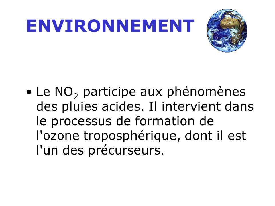 C'est un gaz irritant qui pénètre dans les plus fines ramifications des voies respiratoires. Chez les asthmatiques, il augmente la fréquence et la gra