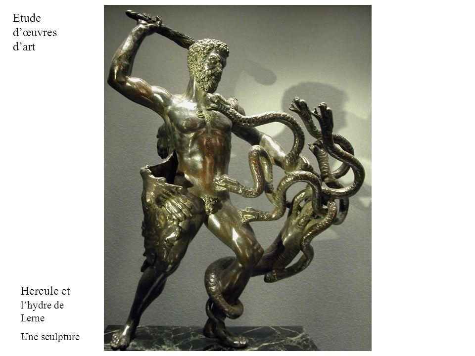 Hercule et lhydre de Lerne Une sculpture Etude dœuvres dart