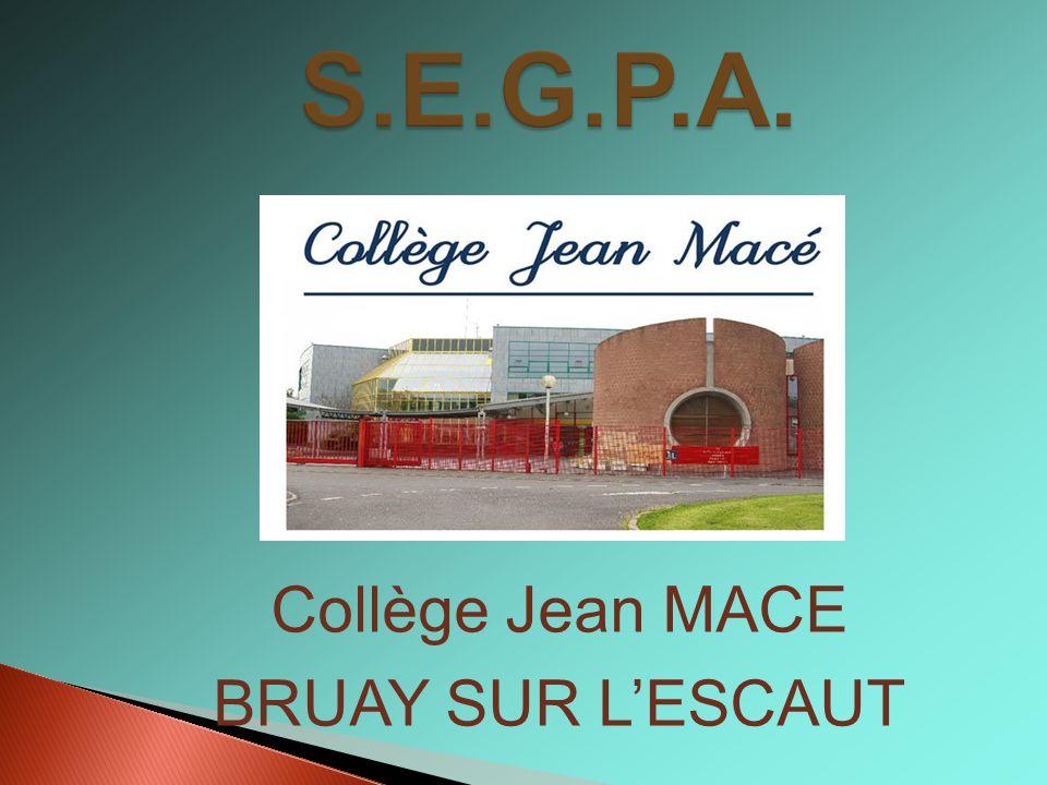 Collège Jean MACE BRUAY SUR LESCAUT