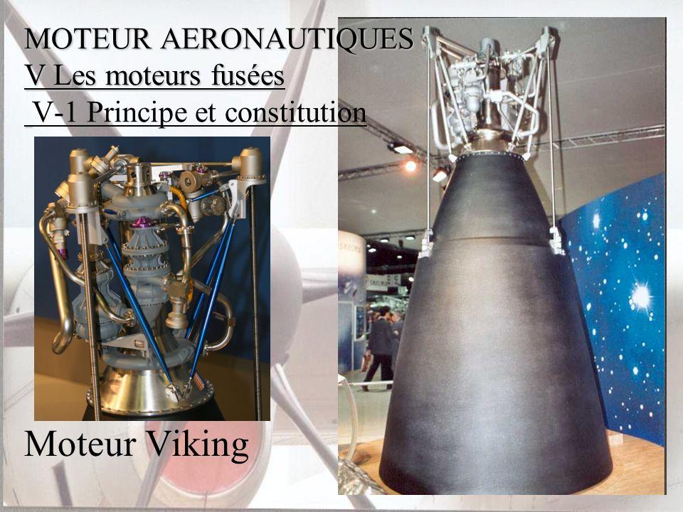 Moteur Viking MOTEUR AERONAUTIQUES V Les moteurs fusées MOTEUR AERONAUTIQUES V Les moteurs fusées V-1 Principe et constitution