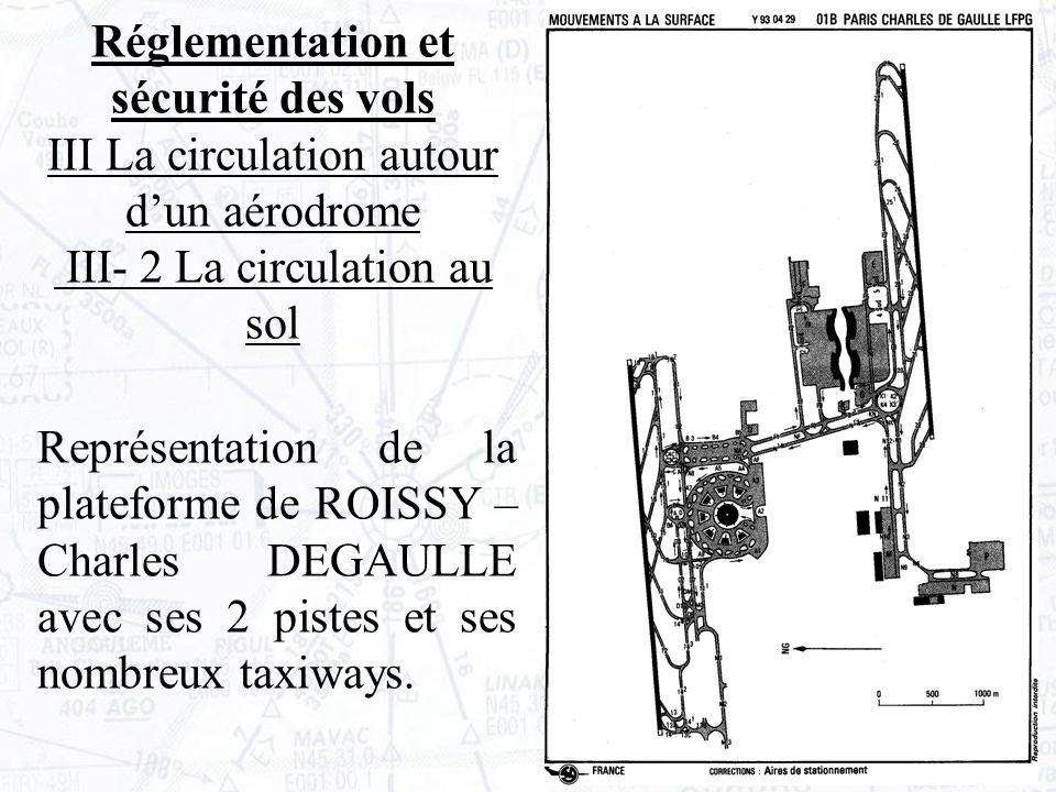 Représentation de la plateforme de ROISSY – Charles DEGAULLE avec ses 2 pistes et ses nombreux taxiways.
