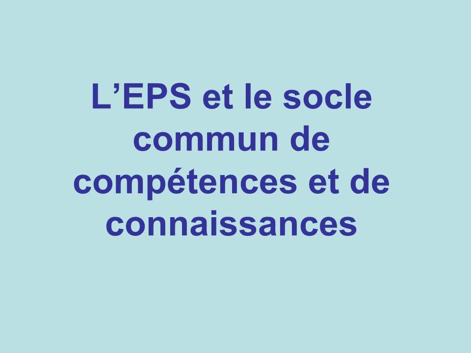 Compétences attendues de niveau 1 (ou 2) : Connaissances Théoriques, règlementaires, tactiques, sur soi, sur les autres et sur lenvironnement.