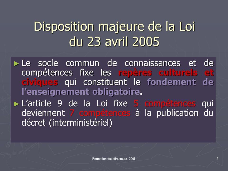 Article L122-1-1 Créé par Loi n°2005-380 du 23 avril 2005 - art.