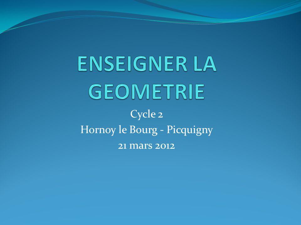 Quest ce que la géométrie.Quévoque pour vous la géométrie .