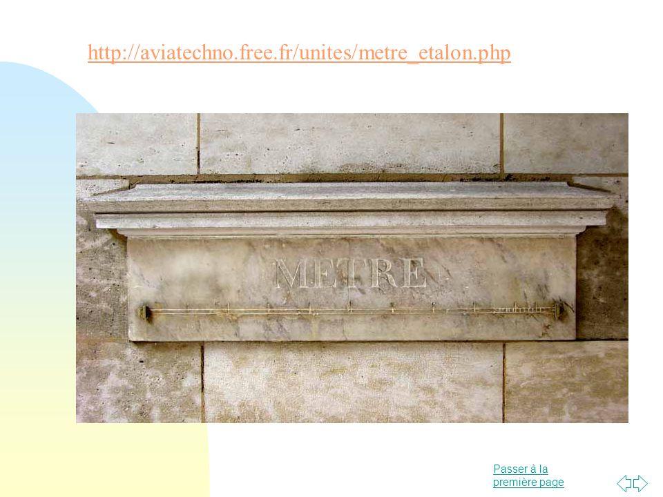 Passer à la première page http://aviatechno.free.fr/unites/metre_etalon.php