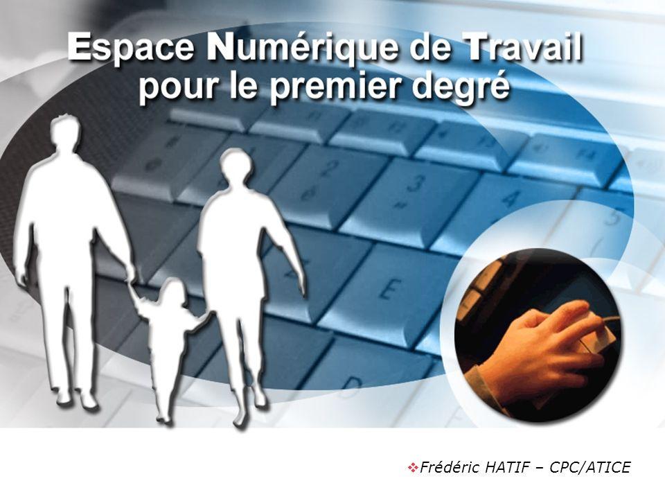 Frédéric HATIF – CPC/ATICE