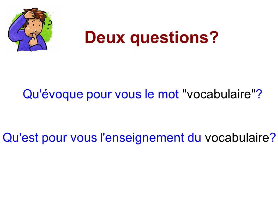 Le lexiqueLe vocabulaire C est l ensemble des mots disponibles dans une langue.
