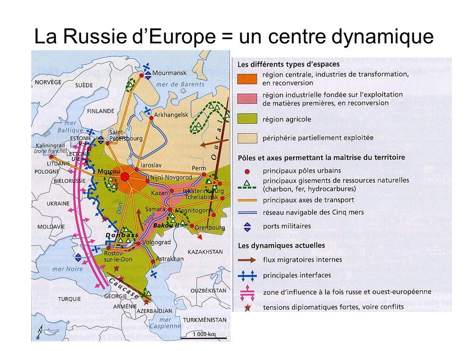 La Russie dEurope = un centre dynamique