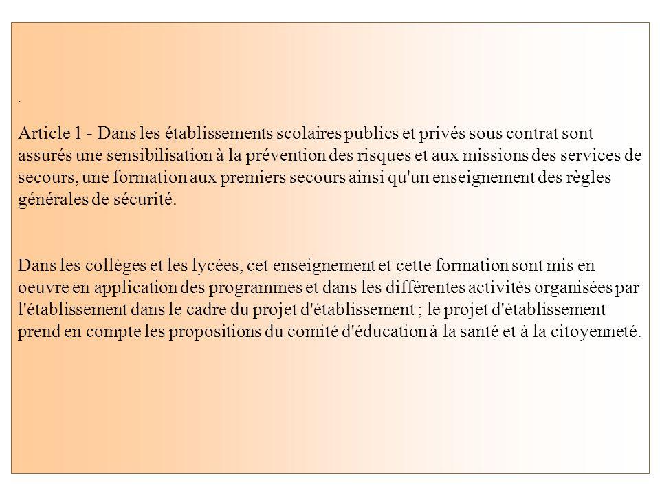 Décret n° 2006-41 du 11 janvier 2006. (loi n°2004-811 de modernisation de la sécurité civile ) Le décret n° 2006-41 du 11 janvier 2006 a abrogé le déc