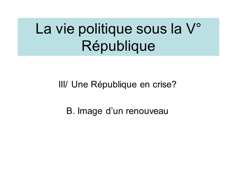 Election présidentielle de 2007: les Français réconciliés avec la politique.