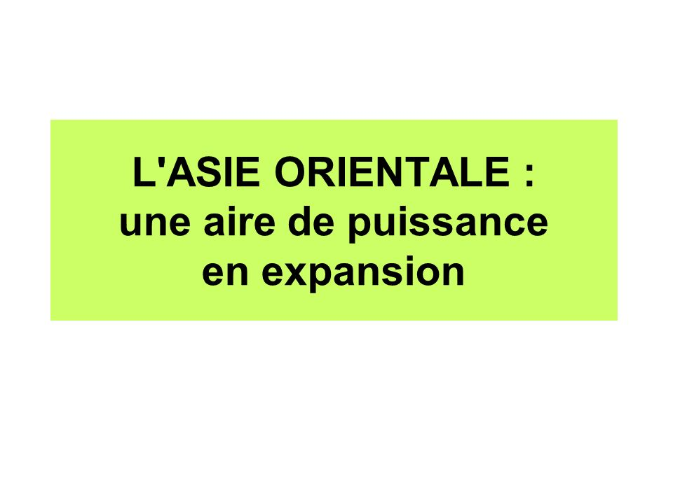 Introduction quel espace .