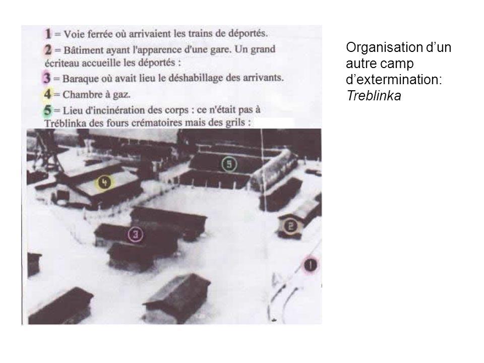 Organisation dun autre camp dextermination: Treblinka