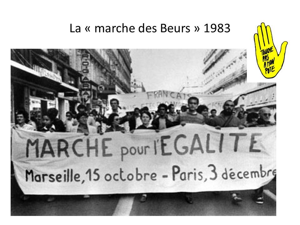 La « marche des Beurs » 1983