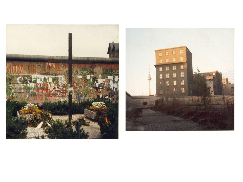 A. BERLIN AU CŒUR DE LA GUERRE FROIDE La chute du Mur : symbole de la fin de la guerre froide
