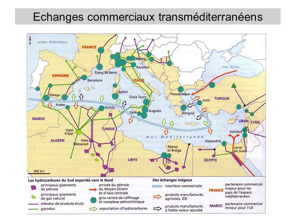 Echanges commerciaux transméditerranéens