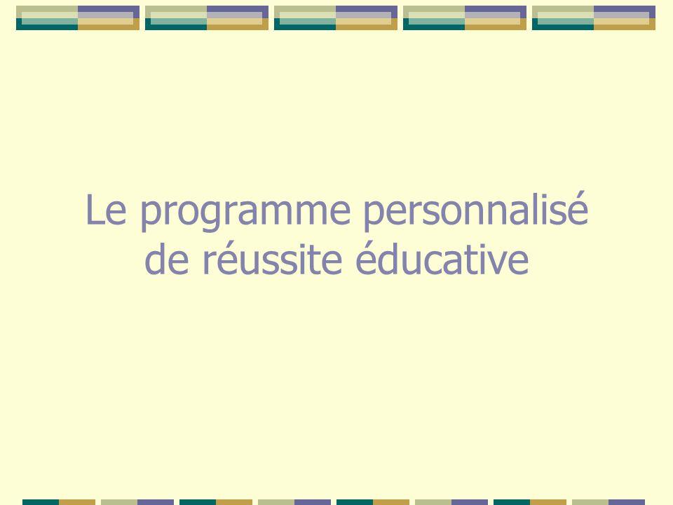 Il suppose de définir des objectifs prioritaires réalistes, ainsi que les modalités, les ressources et les outils pédagogiques à mettre en œuvre.