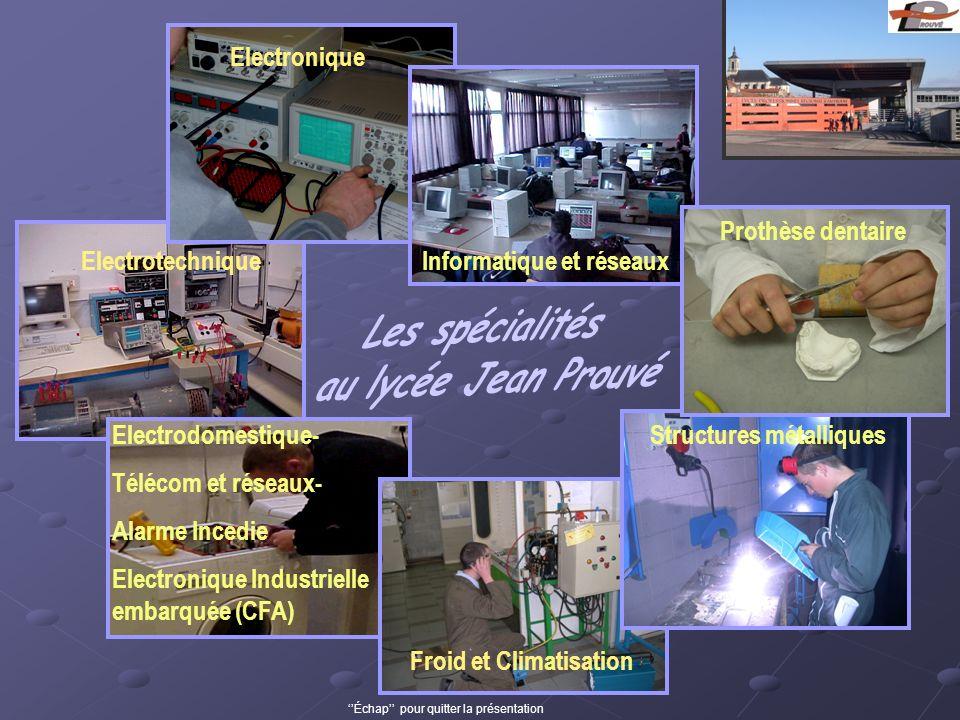 Electrotechnique Electronique Electrodomestique- Télécom et réseaux- Alarme Incedie Electronique Industrielle embarquée (CFA) Froid et Climatisation S
