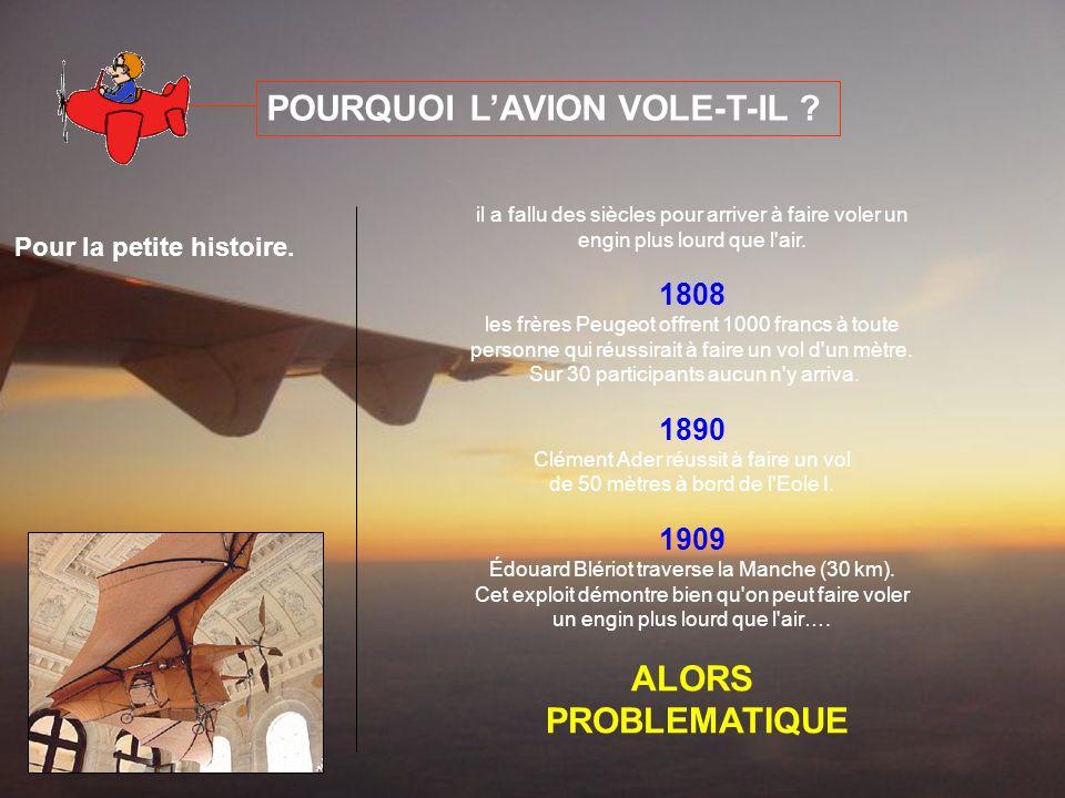 POURQUOI LAVION VOLE-T-IL .