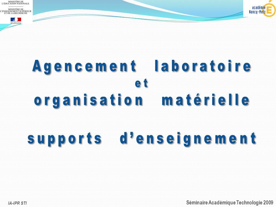 IA-IPR STI Séminaire Académique Technologie 2009