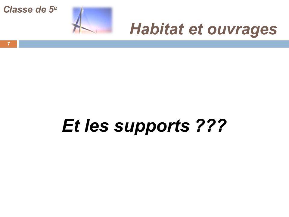 Habitat et ouvrages 8 Classe de 5 e Lenvironnement du collège comme support … Photo de la cantine