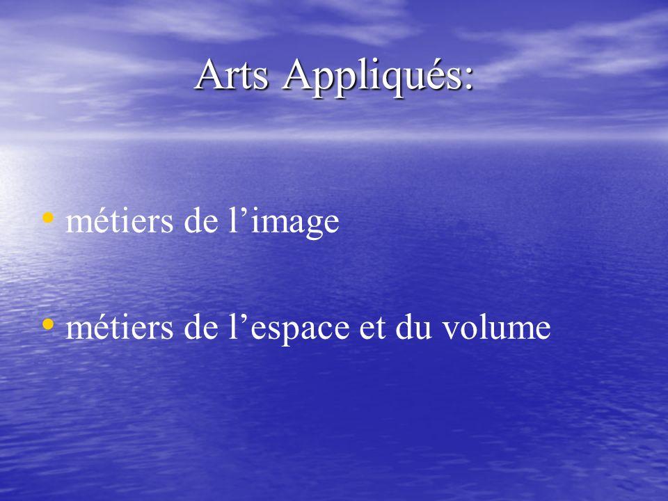 Deux sites pour mieux se repérer Site national http://www.lycee- pasteur.com/sitenational/artsappli.htm Site national http://www.lycee- pasteur.com/sitenational/artsappli.htmhttp://www.lycee- pasteur.com/sitenational/artsappli.htmhttp://www.lycee- pasteur.com/sitenational/artsappli.htm Société dEncouragement aux métiers dart Société dEncouragement aux métiers dartmétiers dartmétiers dart