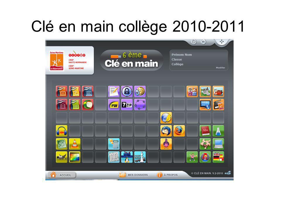 Clé en main collège 2010-2011