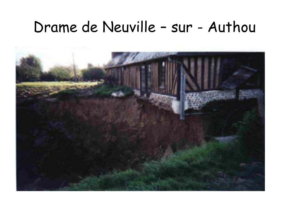 Drame de Neuville – sur - Authou
