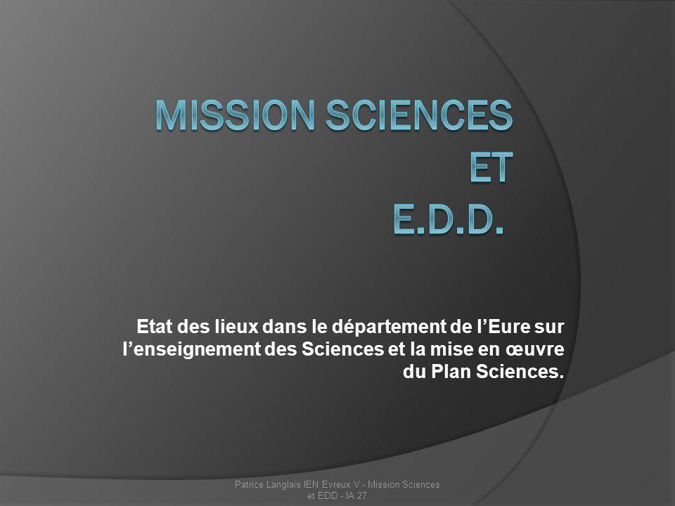 Les ressources Les ressources pédagogiques existent ; les sites de circonscription présentent tous des travaux menés dans des classes, notamment à partir du matériel de sciences disponible dans chaque circonscription.