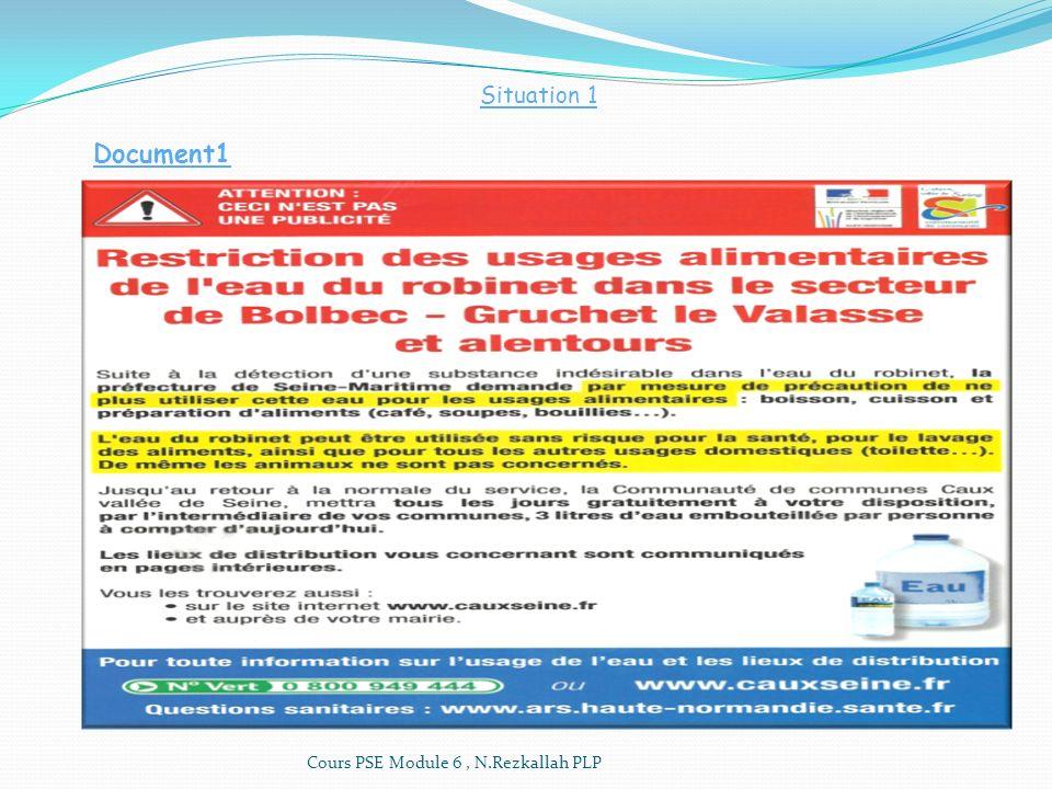 Situation 1 Document1 Cours PSE Module 6, N.Rezkallah PLP