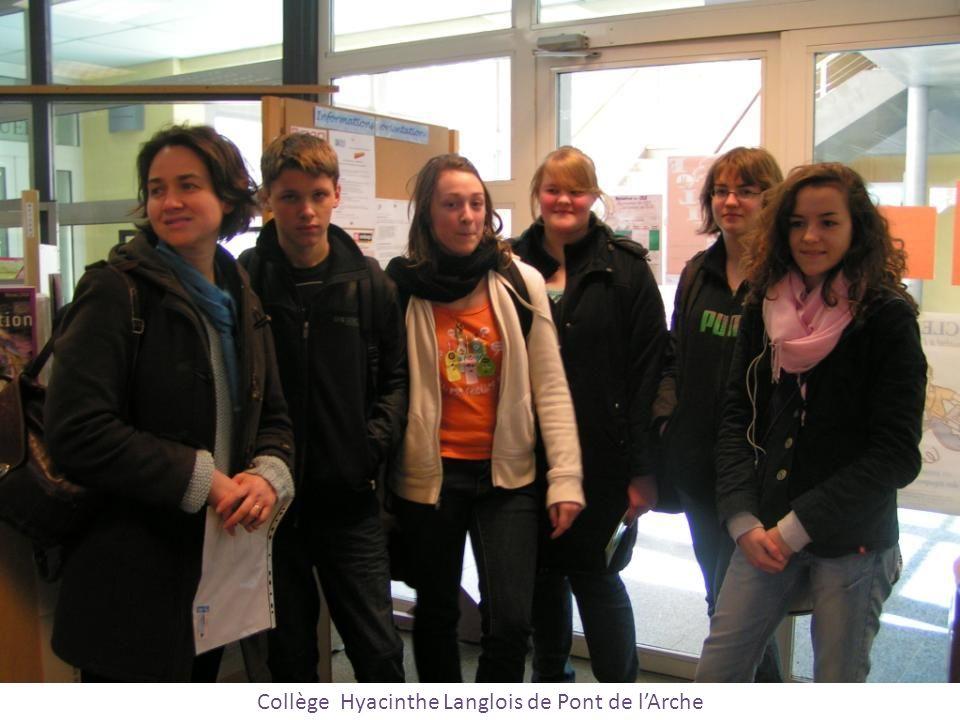 Collège Hyacinthe Langlois de Pont de lArche