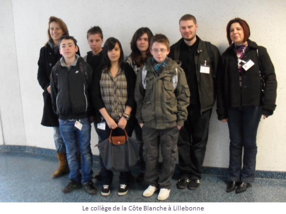 Le collège de la Côte Blanche à Lillebonne