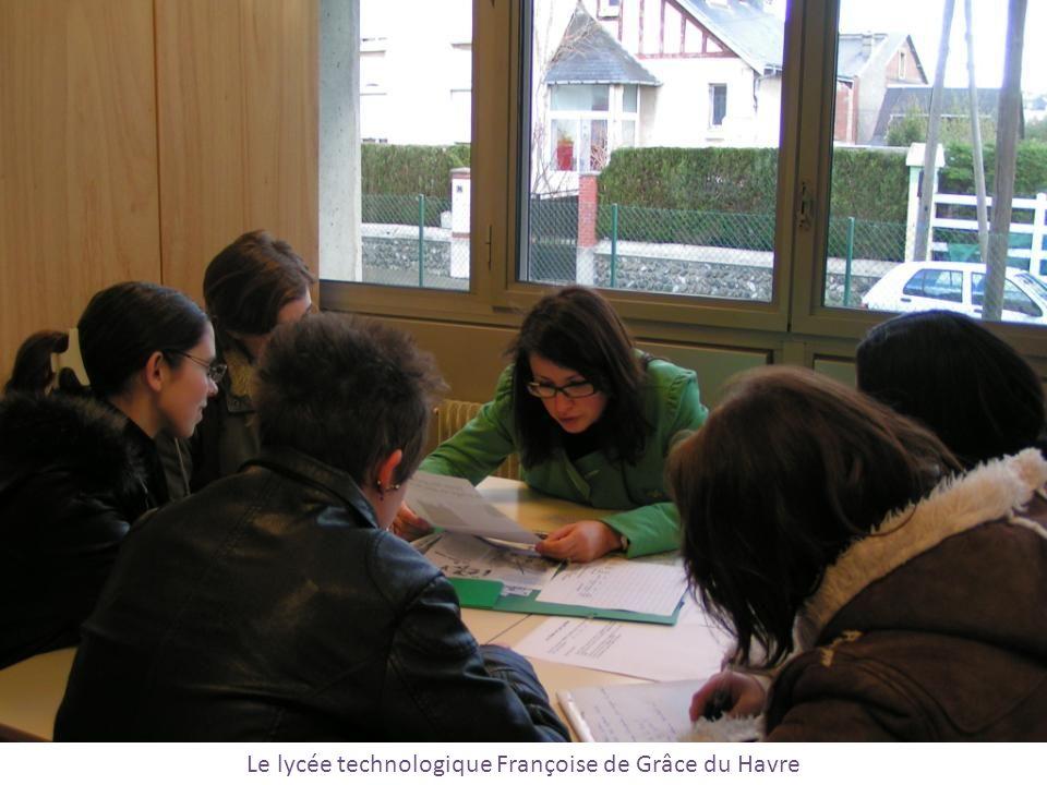 Le lycée technologique Françoise de Grâce du Havre