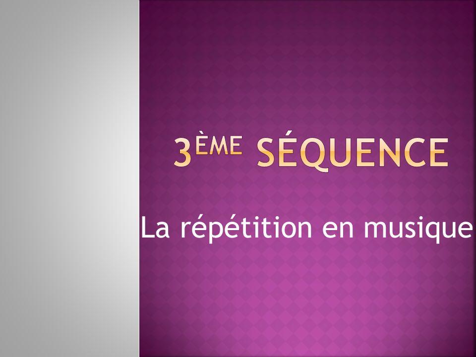 La répétition en musique