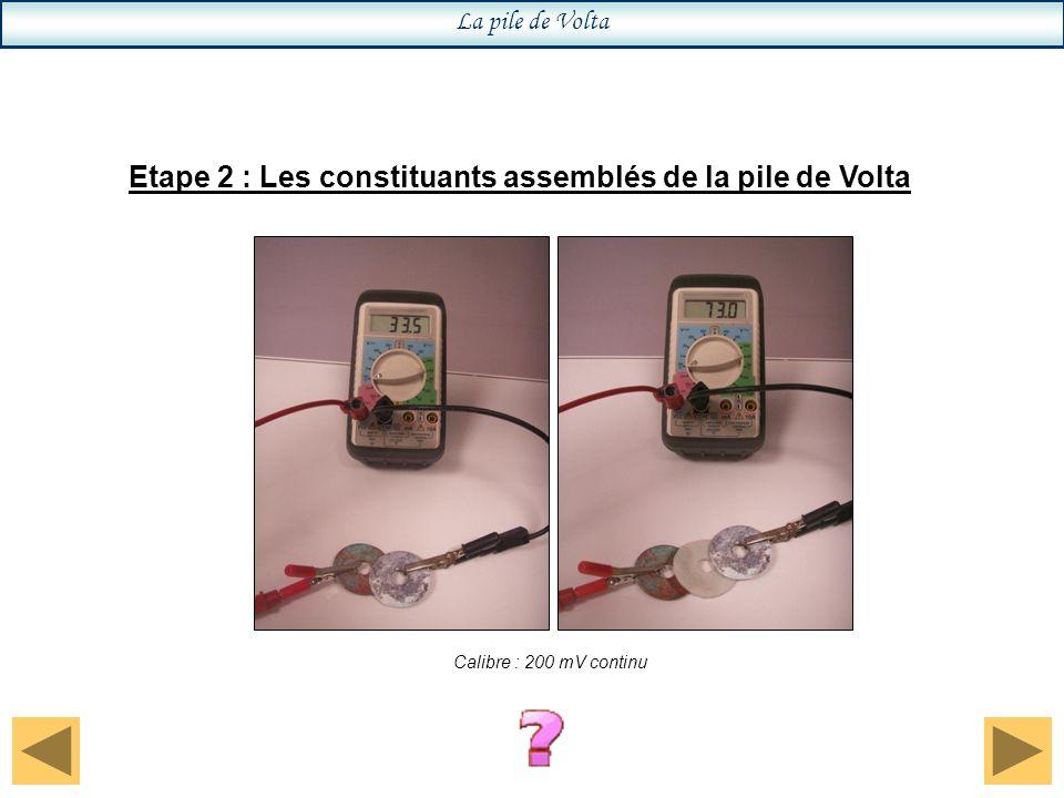 Piles et ions : De Volta à la pile à combustible 3) La pile saline