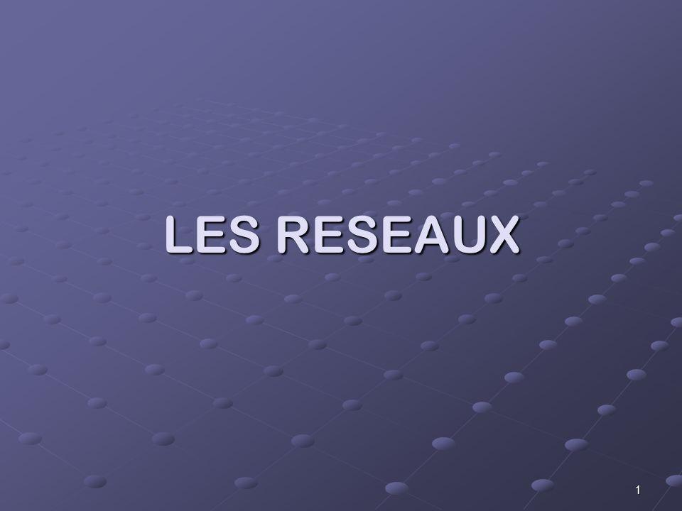 1 LES RESEAUX