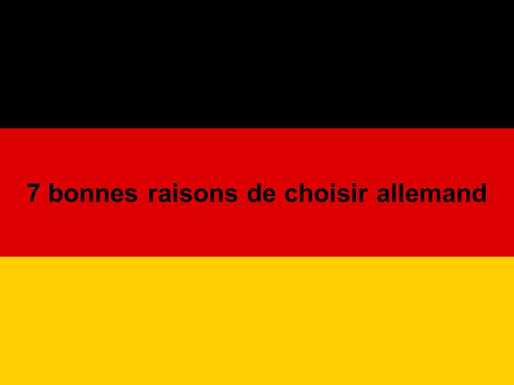 Raison n° 3 : L Allemagne, un pays où il fait bon vivre.