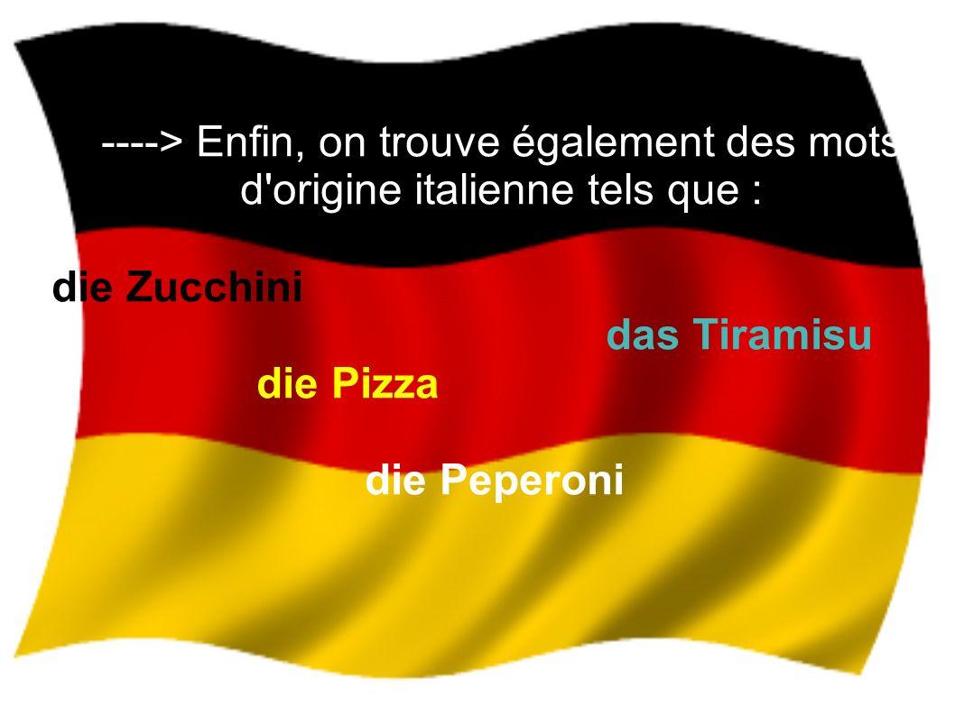 Quelques célébrités allemandes