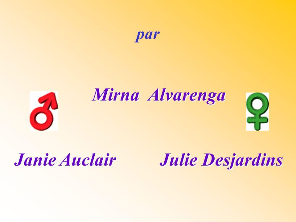 Mirna Alvarenga Janie Auclair Julie Desjardins Mirna Alvarenga Janie Auclair Julie Desjardins par