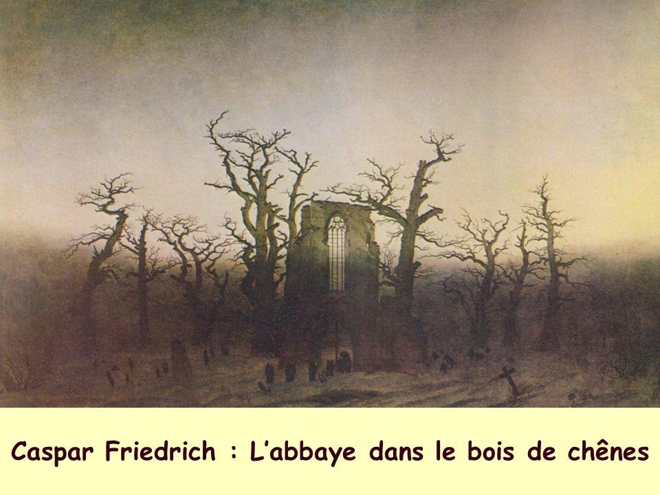 Caspar Friedrich : Labbaye dans le bois de chênes