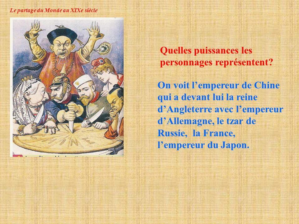 Le partage du Monde au XIXe siècle Leurope et le monde en 1815