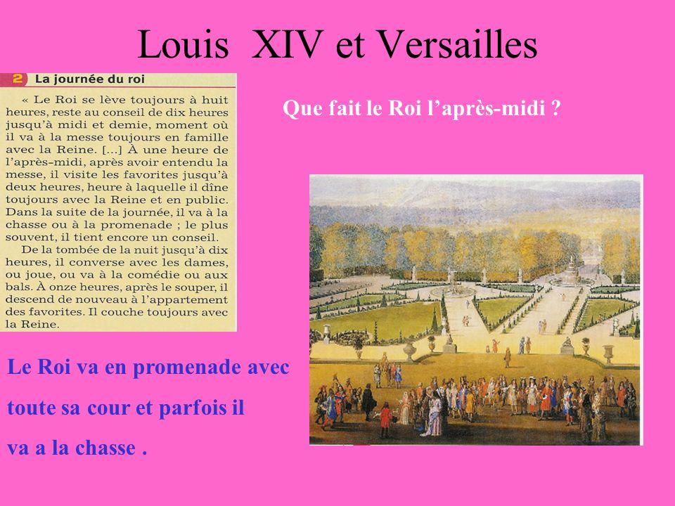 Louis XIV et Versailles Où est la chambre du Roi .
