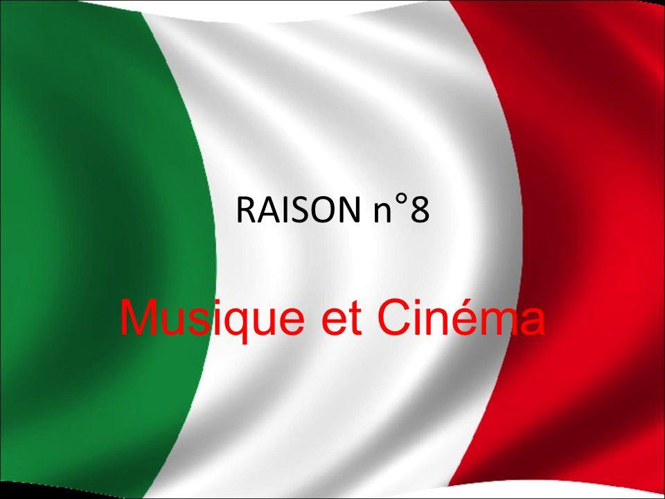 RAISON n°8 Musique et Cinéma