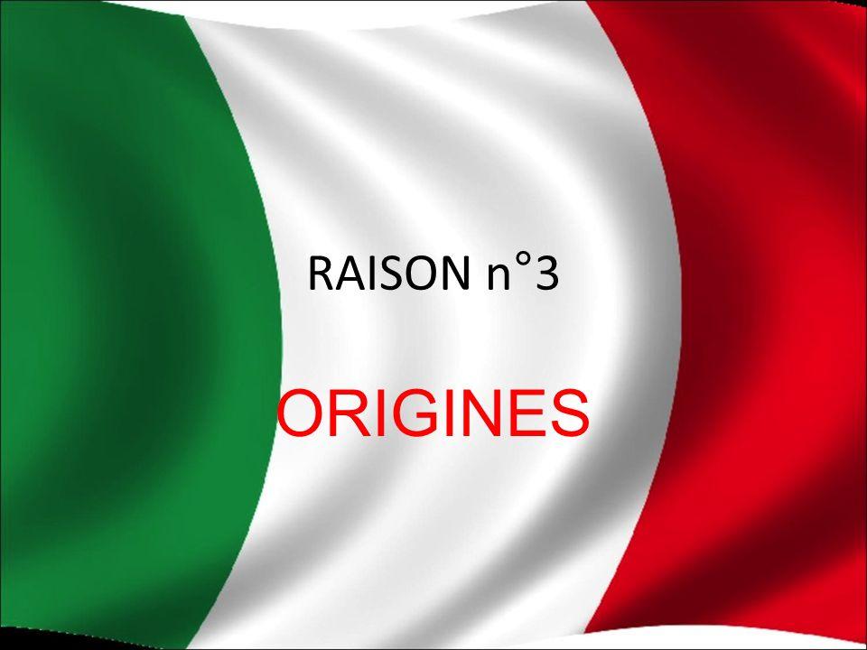 RAISON n°3 ORIGINES