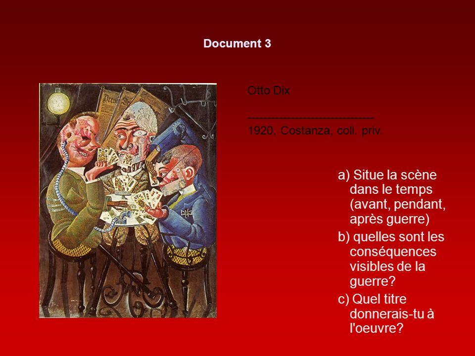 Otto Dix -------------------------------- 1920, Costanza, coll.