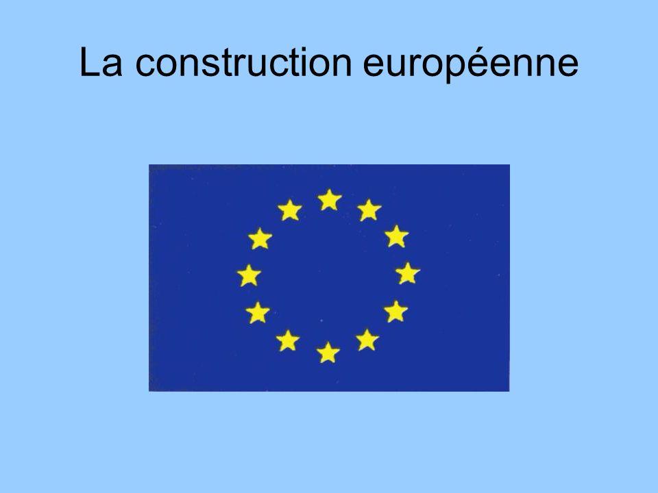 Les six états fondateurs en 1957 Allemagne Belgique France Italie Luxembourg Pays Bas