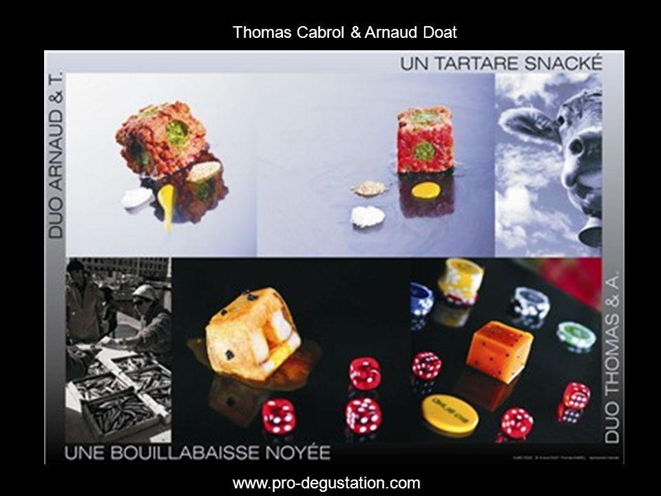 Thomas Cabrol & Arnaud Doat www.pro-degustation.com